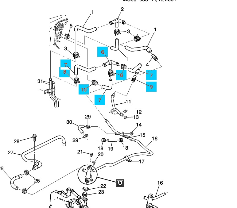 pontiac trans sport wiring diagram with 2001 Pontiac Montana Heater Hose Diagram on 1998 Ford E350 Diesel Van Fuse Box Diagram further 2001 Pontiac Montana Heater Hose Diagram as well 2000 Jeep Engine Parts furthermore X  Radio Wiring Diagram moreover 1380332 Hvac Fan Blower Motor Blasts 4 Low 2 3 Dont Do Much You Too.