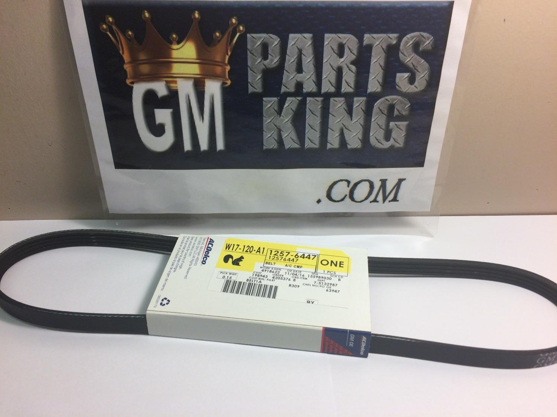 Gm Oem-serpentine Belt  C Compressor 12576447