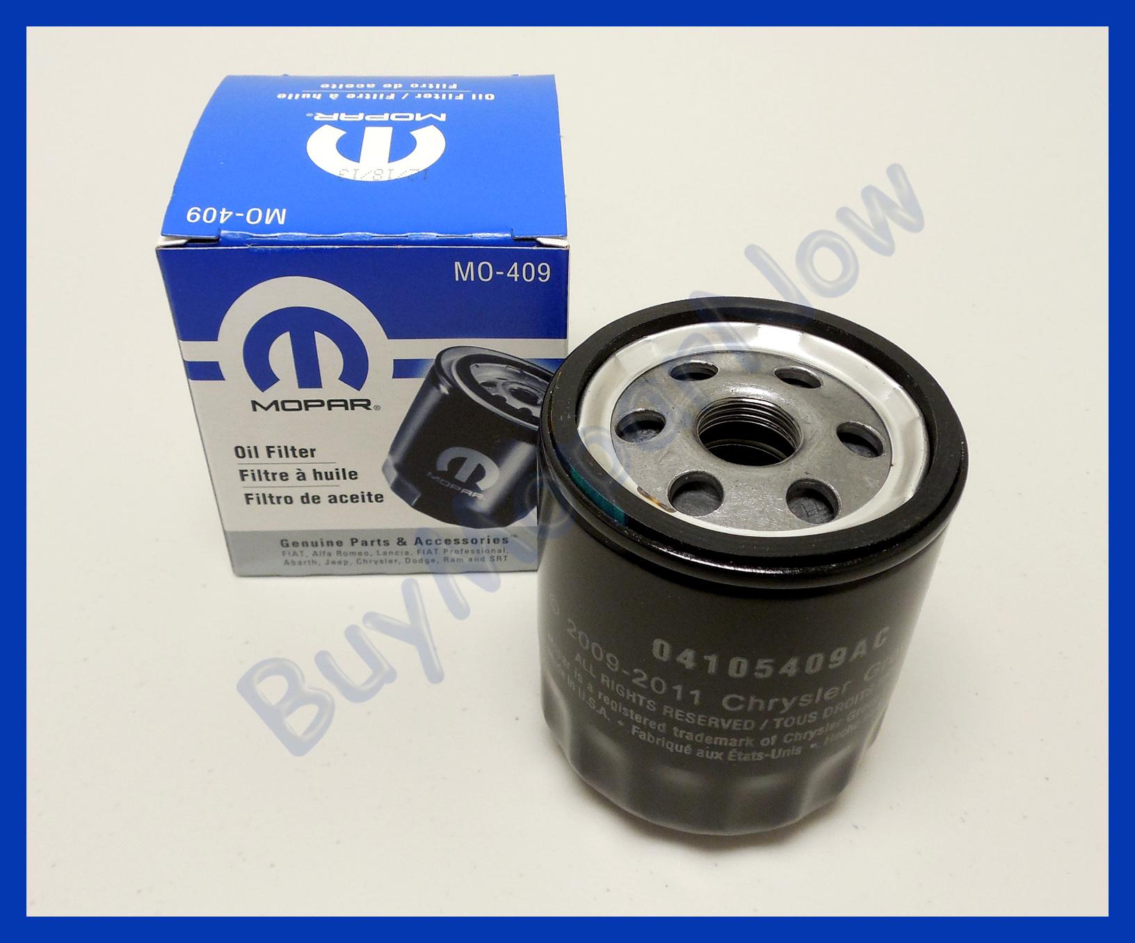 Engine Oil Filter Mopar 4105409ac Ebay