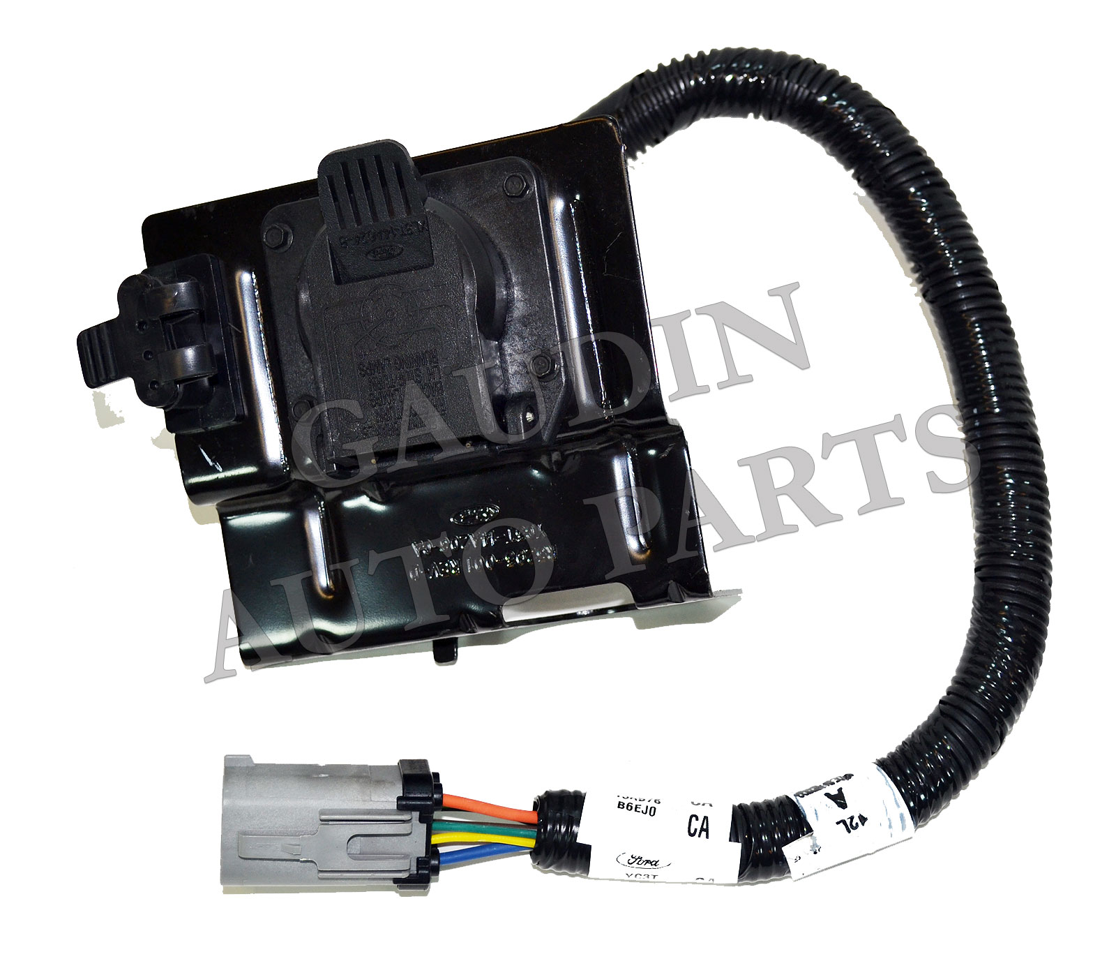 ford oem 99 01 f 250 duty rear bumper wire harness yc3z13a576ca ebay