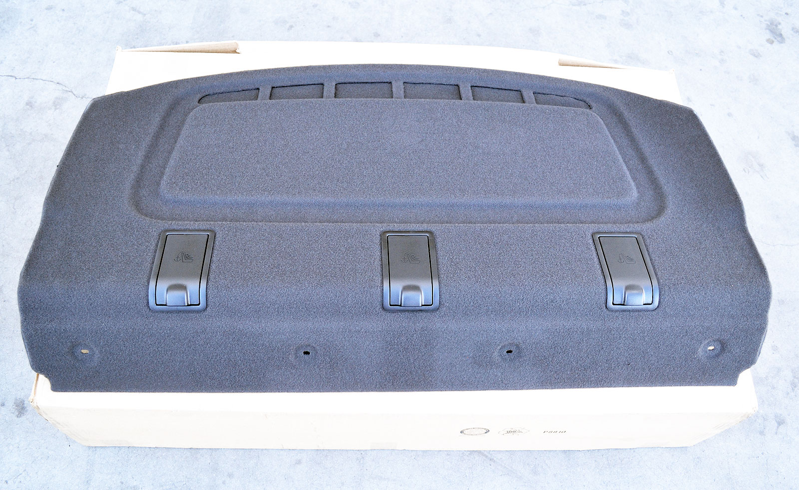 Ford Oem 12 15 Focus Interior Rear Package Tray Trim Dm5z5446668bd Ebay