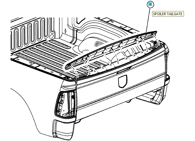 2004 dodge dakota front bumper diagram