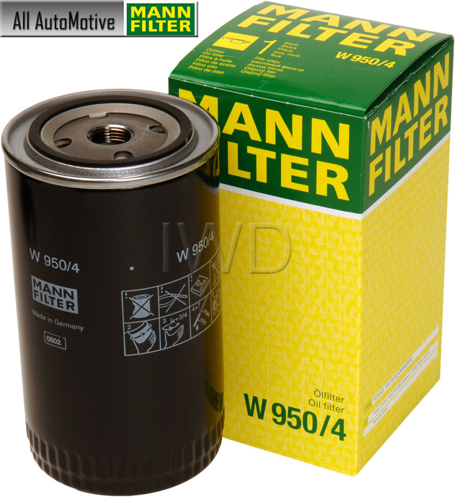 Oil Filter Fits Vw Eurovan 92 4