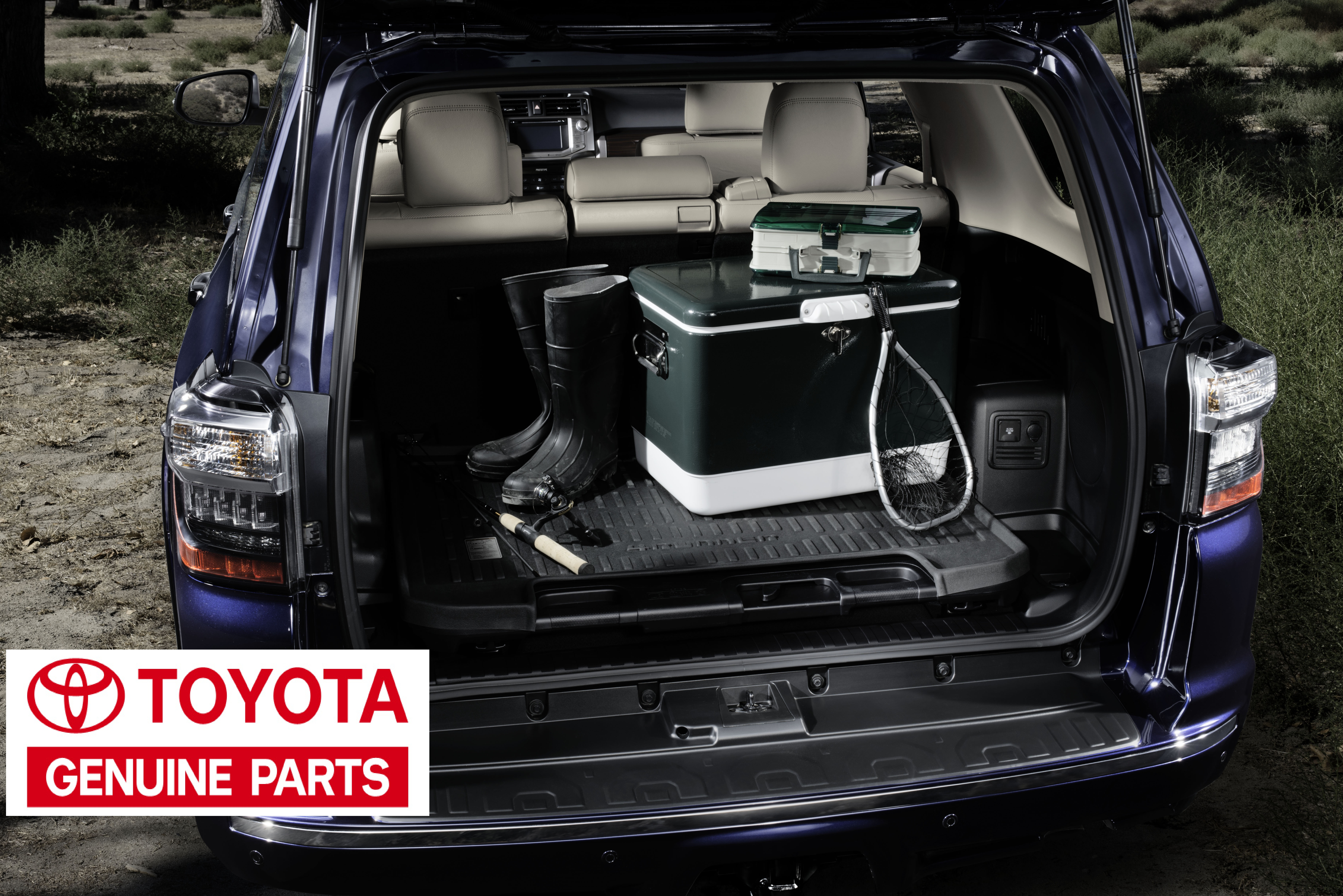 Toyota Oem 2010 2017 4runner All Weather Rubber Cargo Tray