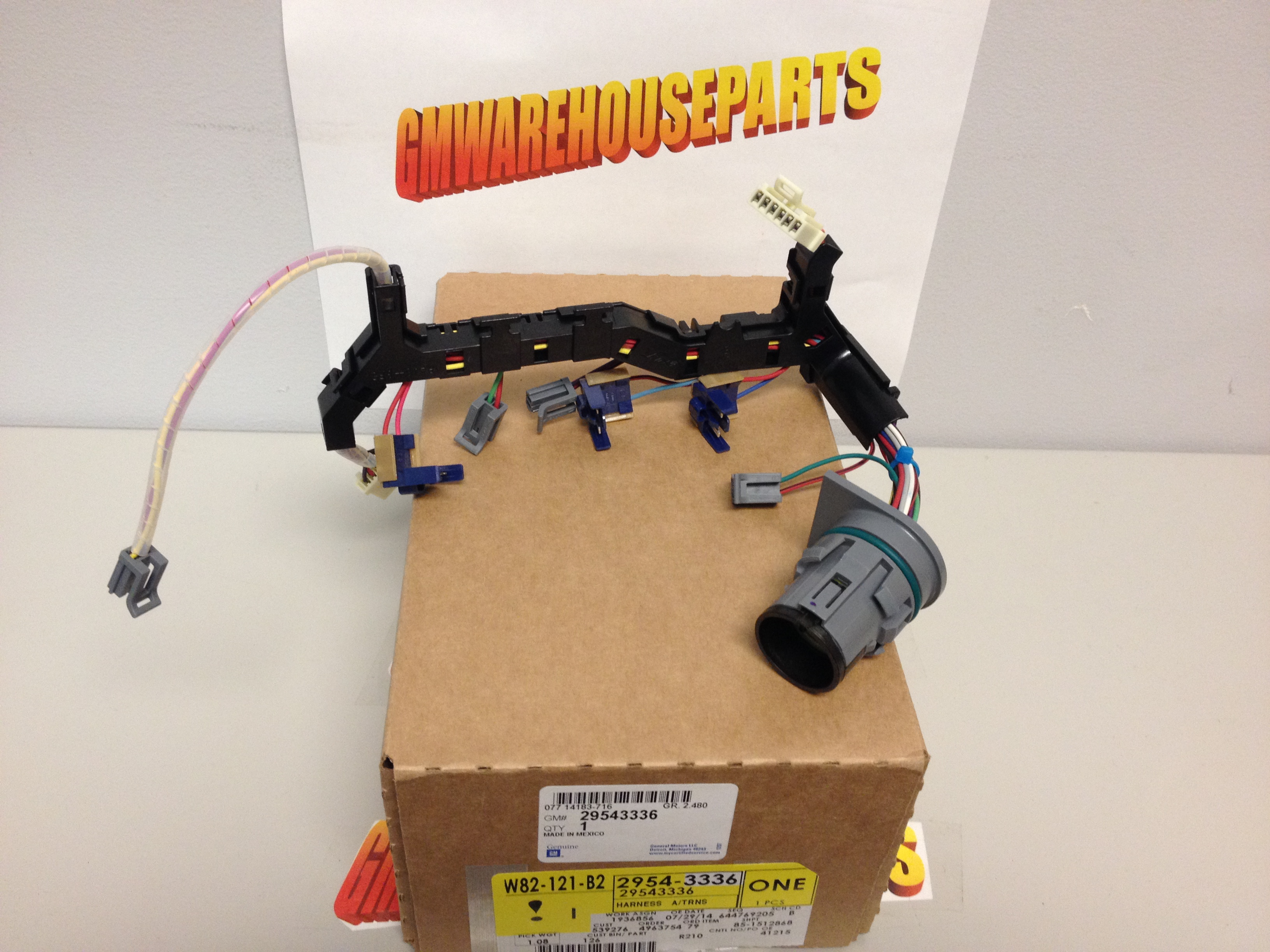 allison automatic transmission wiring harness new gm  allison automatic transmission wiring harness new gm 29543336