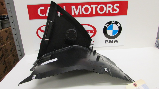 bmw oem 01 05 325i front fender liner splash shield. Black Bedroom Furniture Sets. Home Design Ideas