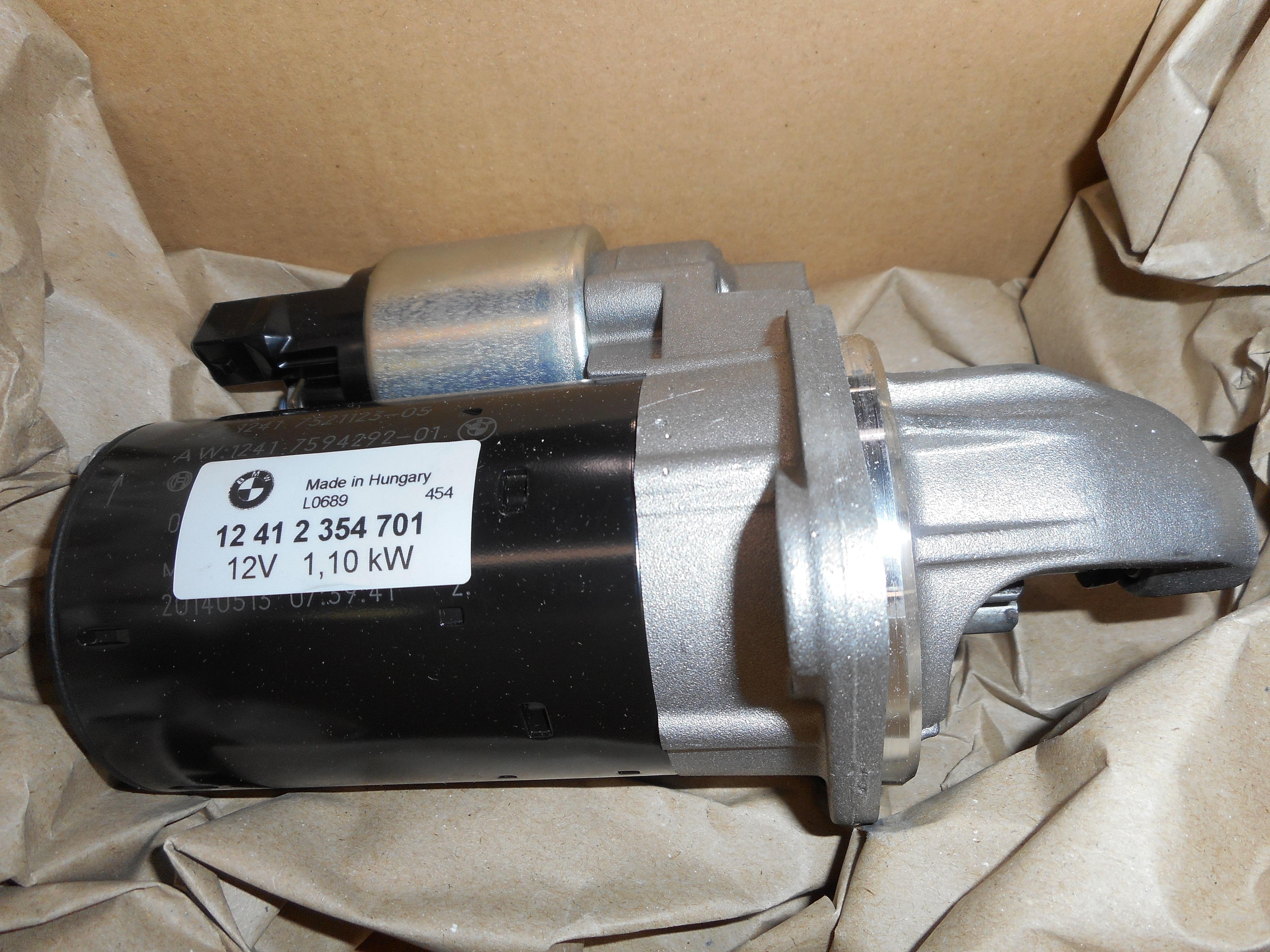Bmw Oem 06 11 Z4 Starter Motor 12412354701 Ebay