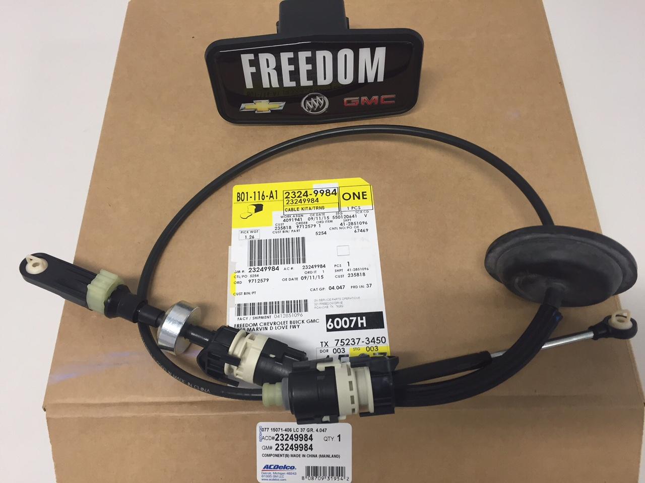 chevrolet gm oem malibu transmission gear shifter shift control cable 23249984 ebay. Black Bedroom Furniture Sets. Home Design Ideas