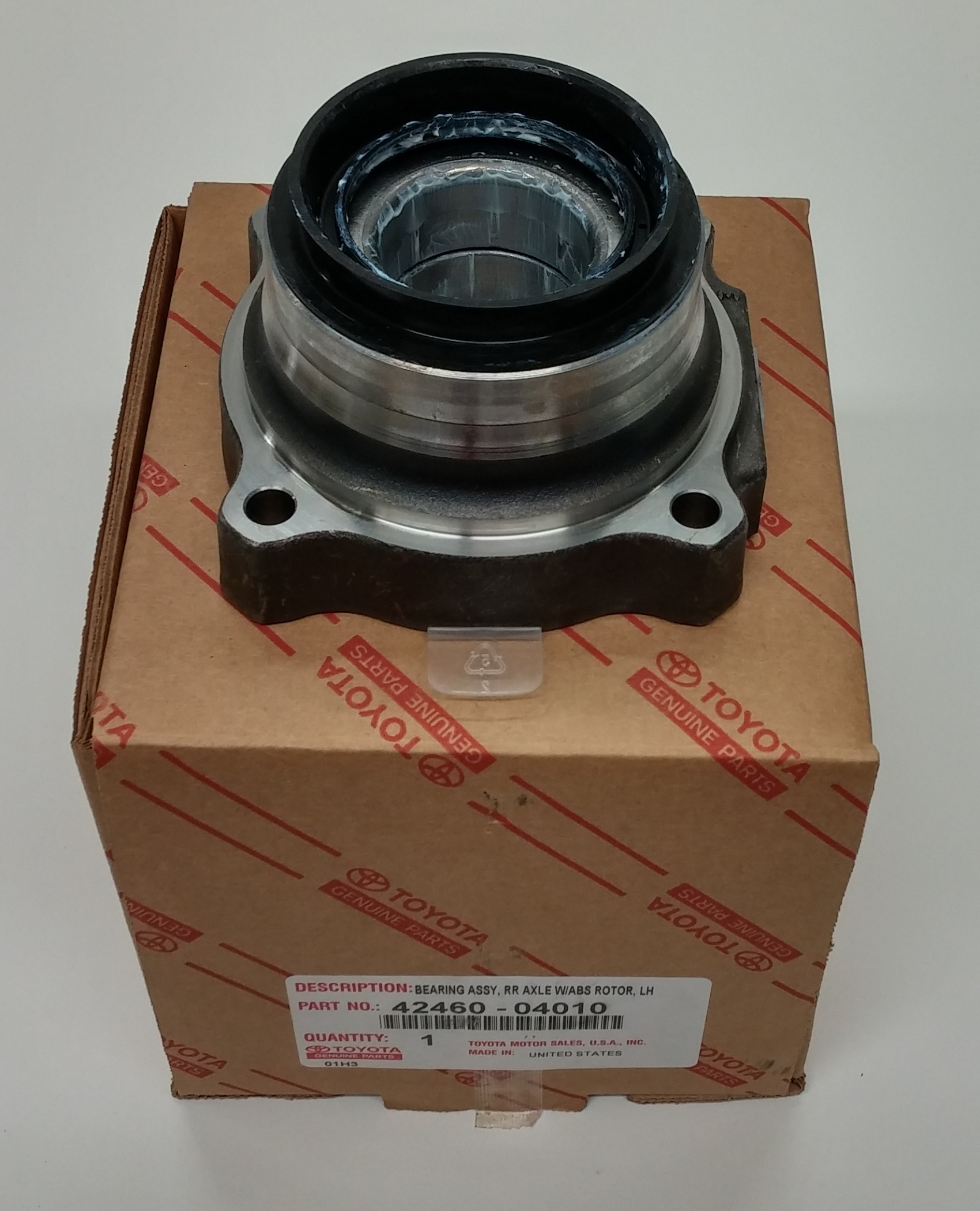 Toyota OEM Left Rear Axle Hub And Bearing For Tacoma 42460