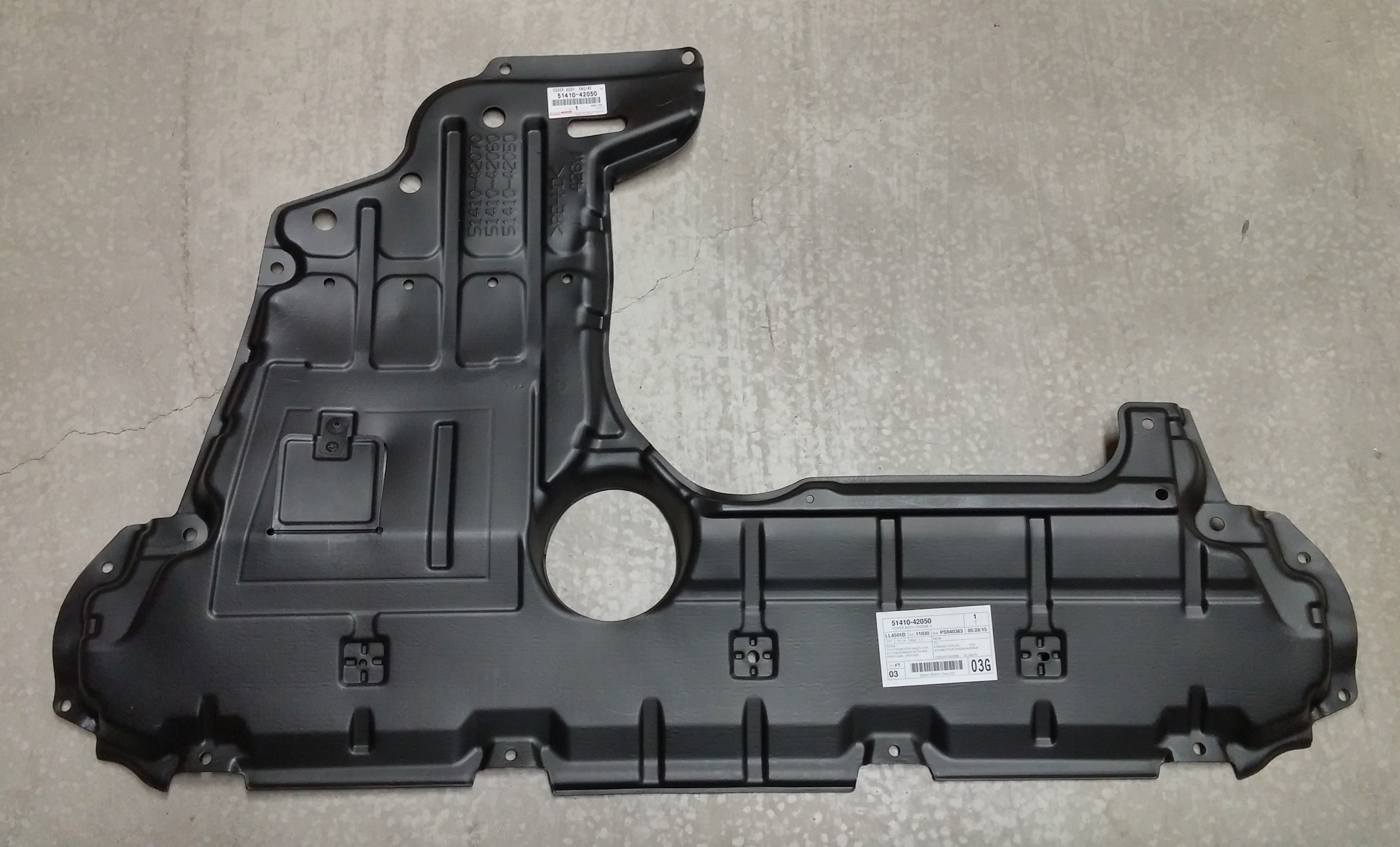toyota oem engine cover for rav4 2006 12 51410 42050 ebay