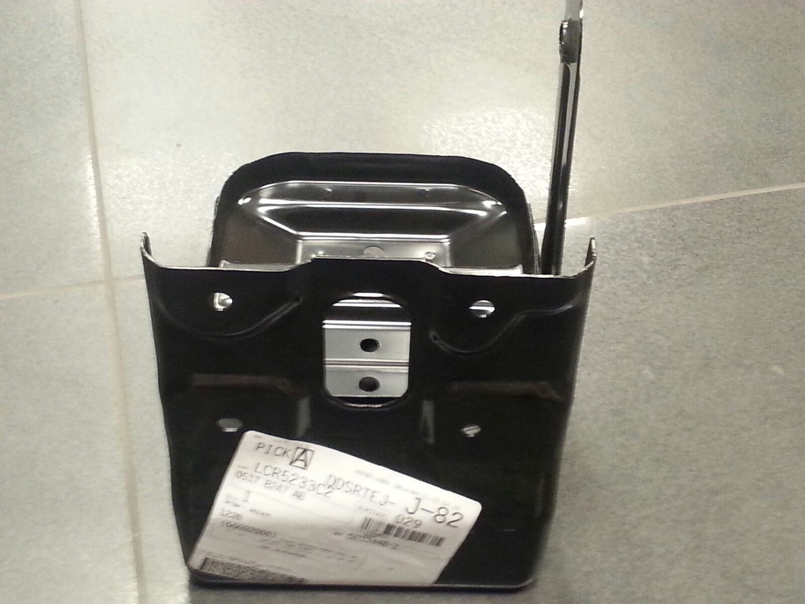 2009 16 dodge journey battery tray oem 5178247ab ebay. Black Bedroom Furniture Sets. Home Design Ideas