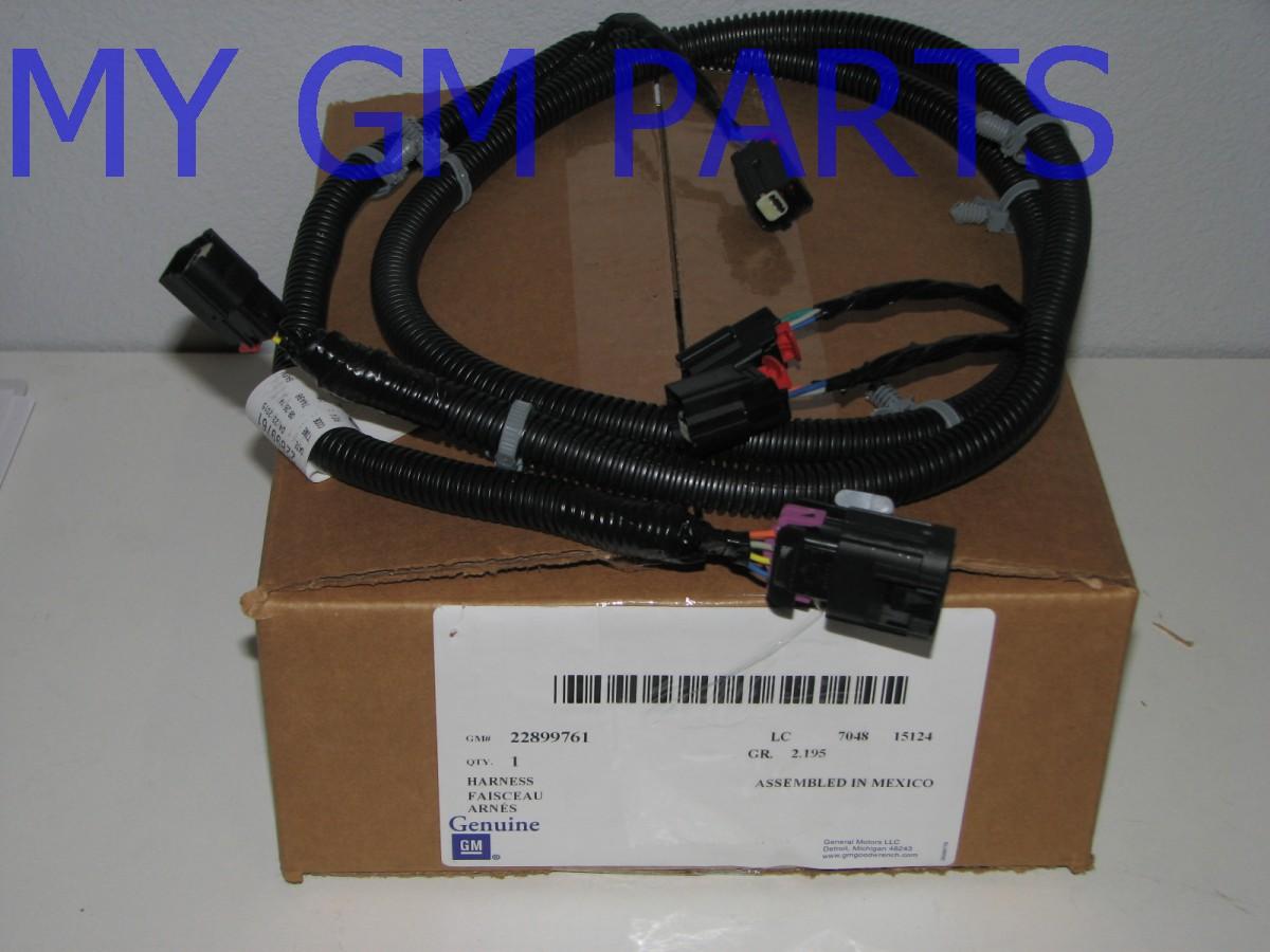 tahoe yukon suburban back up object sensor wiring harness new oem 22899761 ebay