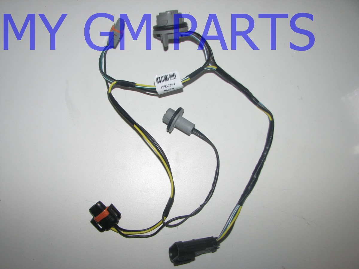 CHEVROLET MALIBU HEAD LIGHT WIRING HARNESS  NEW OEM - Chevy malibu wiring diagram