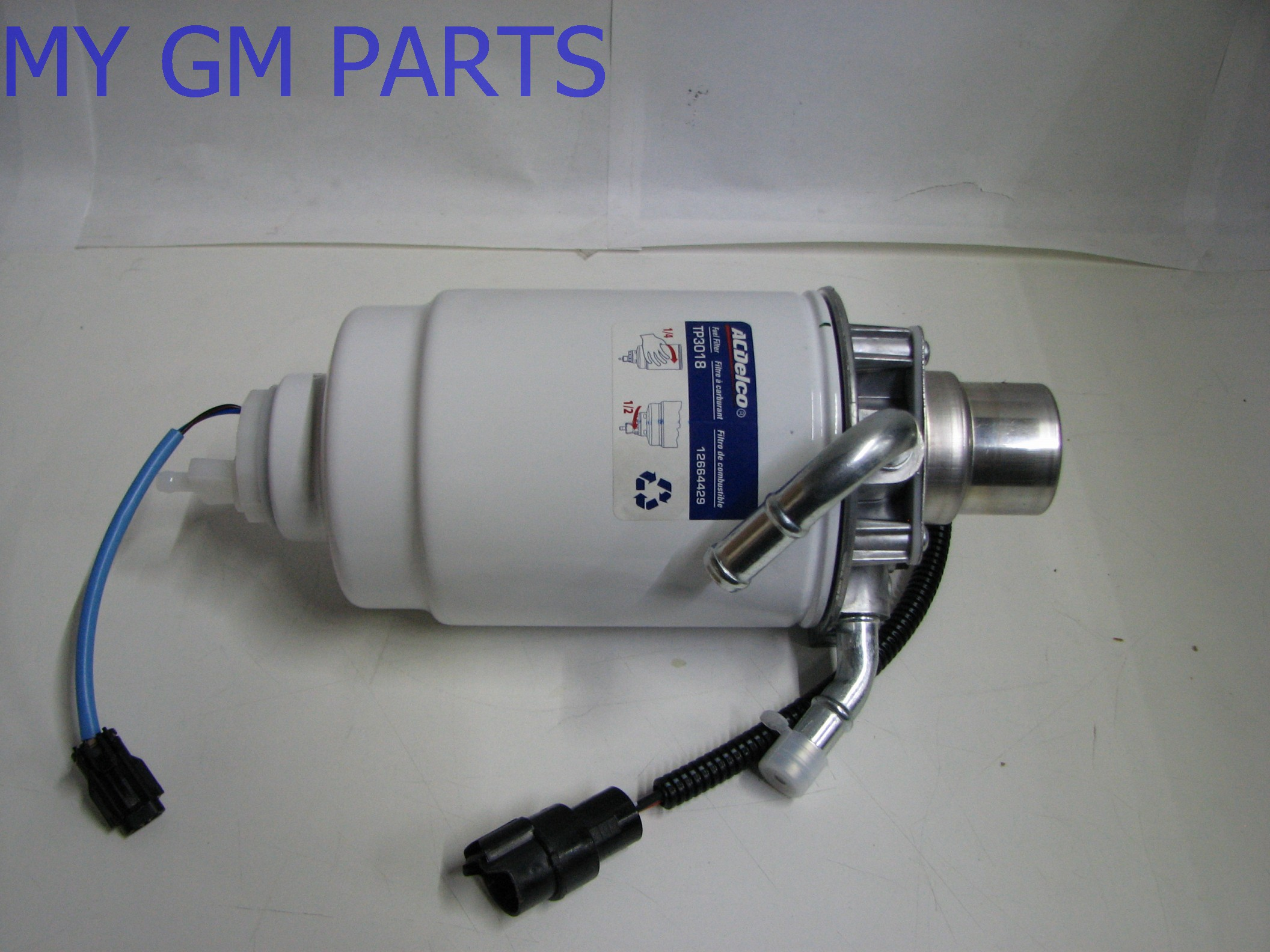 Lml Fuel Filter Duramax Location 2005 2013 Lly Lbz Lmm Assembly