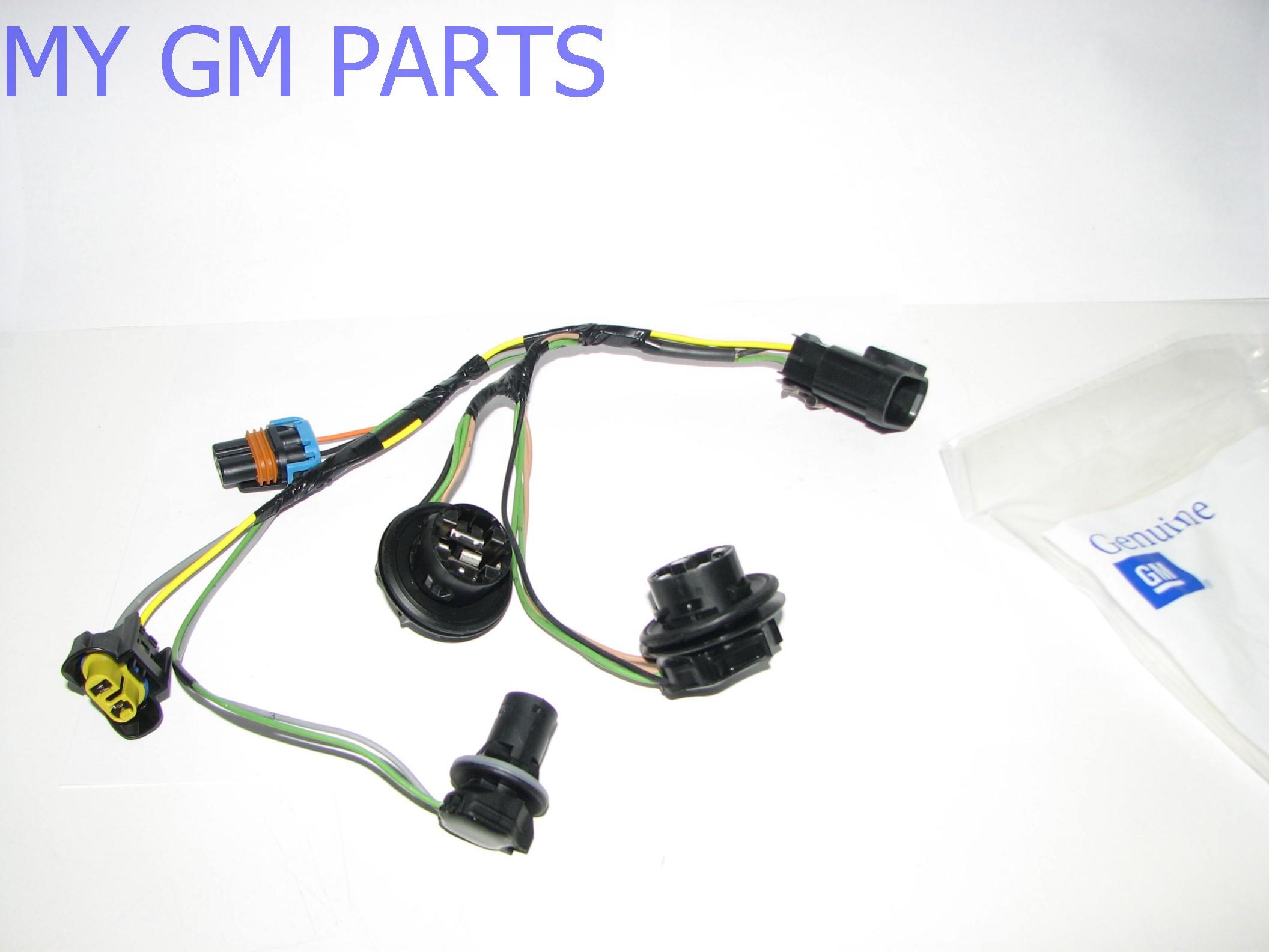 Gmc Sierra Head Light Wiring Harness 2007