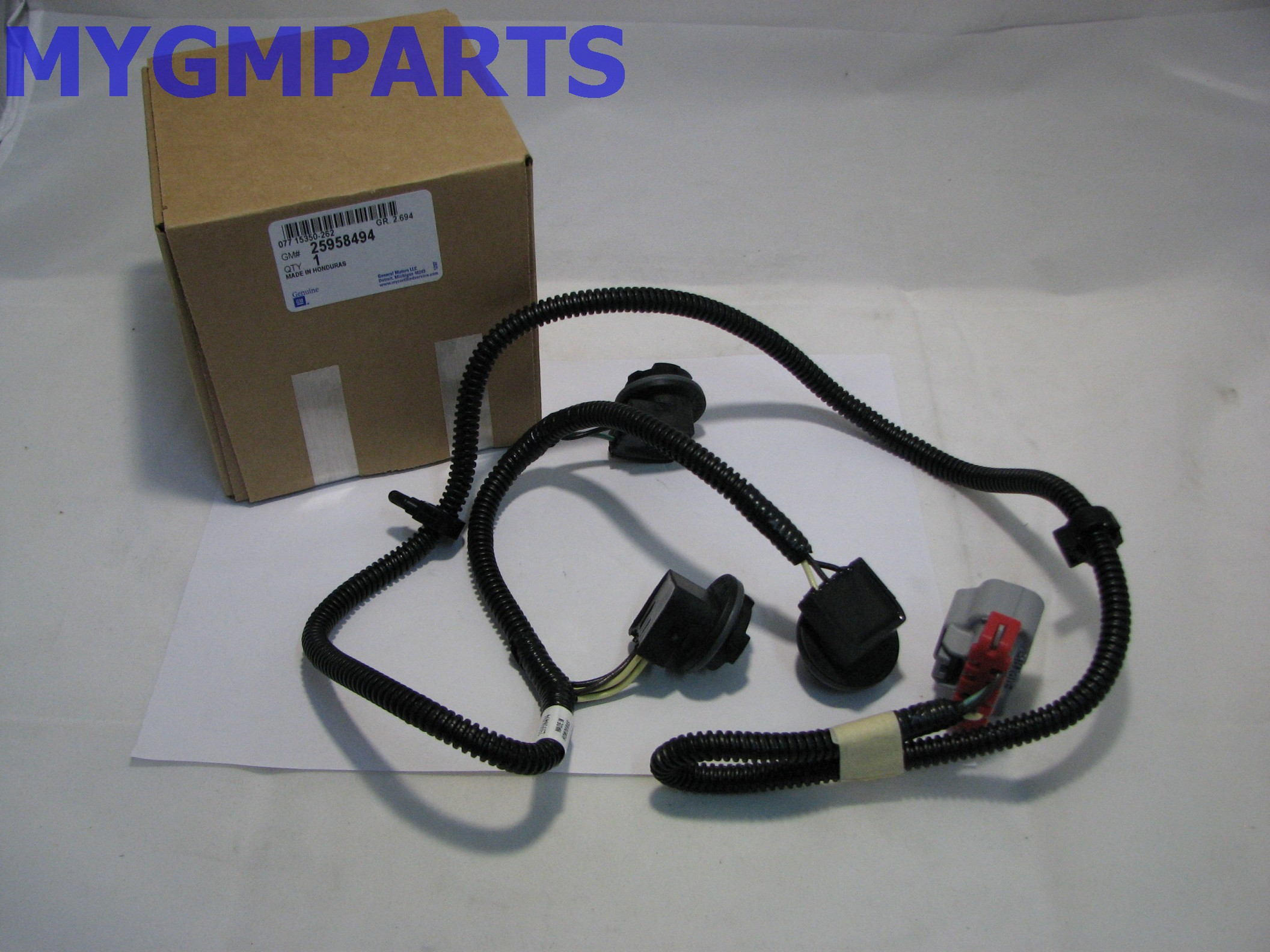 chevy silverado drivers side tail light wiring harness 2007 2013 chevy silverado drivers side tail light wiring harness 2007 2013 new oe 25958494